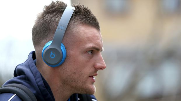 Jamie Vardy has revealed his unique pre-match routine