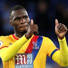 Christian Benteke headed Crystal Palace's equaliser at Everton