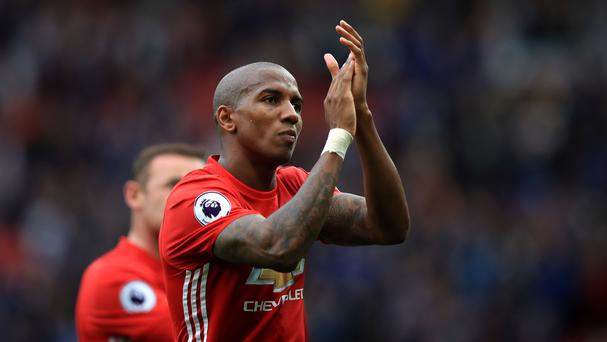 Ashley Young has called for Manchester United to be ruthless against Stoke on Sunday