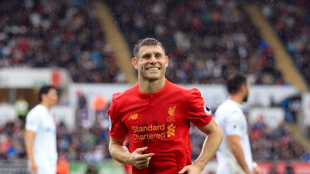 In-form Liverpool star James Milner says he has no plans to make an England comeback