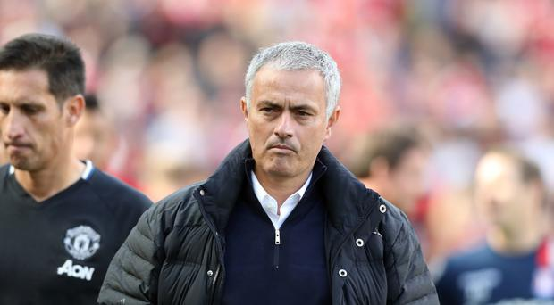 Manchester United manager Jose Mourinho could not believe his side did not score more in their 1-1 draw against Stoke
