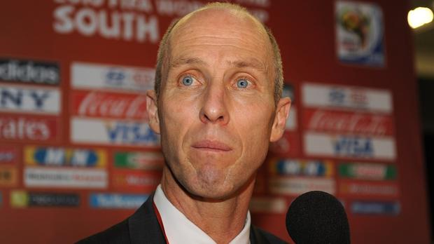 Bob Bradley, pictured, has replaced Francesco Guidolin as Swansea boss