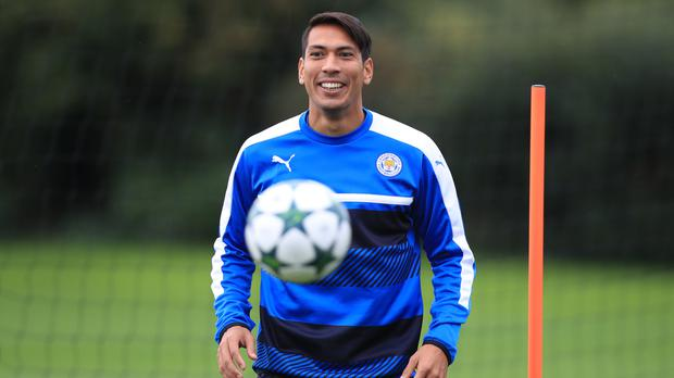 Leicester's Leonardo Ulloa is yet to score for the Foxes this season