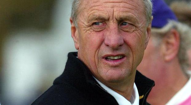 Johan Cruyff (pictured) had an unmatched influence on football, according to Manchester City boss Pep Guardiola
