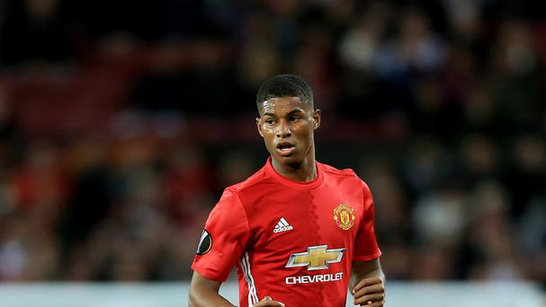 Marcus Rashford made his senior debut for Manchester United in February