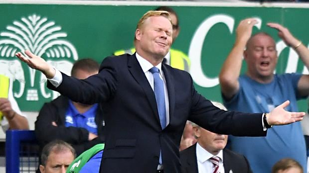 Manager Ronald Koeman wants to see more productivity from key Everton players