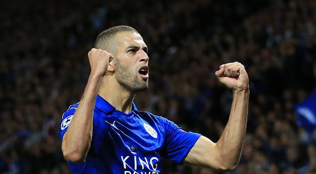 Islam Slimani has made a positive start to his Leicester career