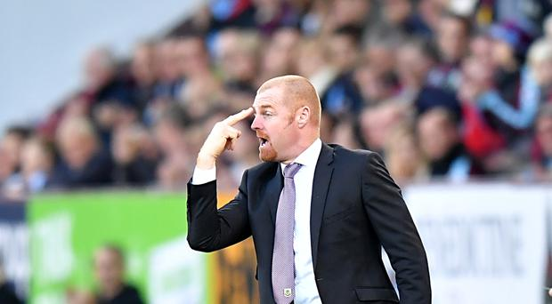 Burnley manager Sean Dyche says there was nothing more than