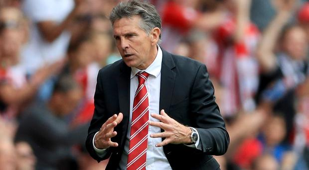 Claude Puel's Southampton host Burnley on Sunday