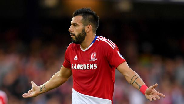 Striker Alvaro Negredo has been told to fight for his place in the Middlesbrough team