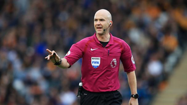 Anthony Taylor will take charge of Liverpool's game with Manchester United on Monday