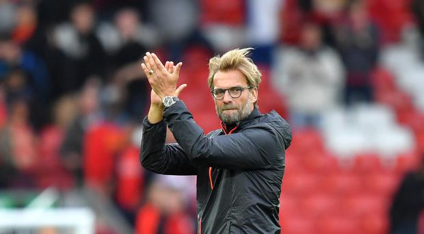 Liverpool have scored 113 goals in all competitions in manager Jurgen Klopp's first year in charge
