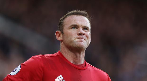 Wayne Rooney has not started Manchester United's past three games