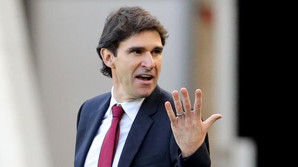 Aitor Karanka's Middlesbrough had a number of penalty appeals turned down