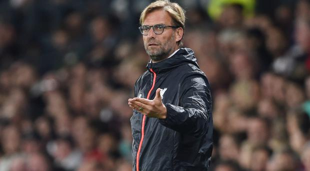 Jurgen Klopp, pictured, insists he and Jose Mourinho are not the most important factors in Monday night's meeting between Liverpool and Manchester United