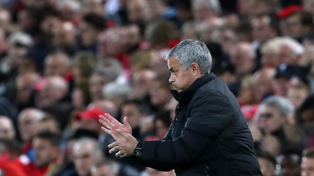 Manchester United manager Jose Mourinho went up against Jurgen Klopp