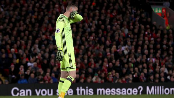 David de Gea was on top form for Manchester United