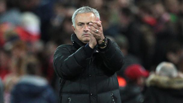 Jose Mourinho guided Manchester United to a draw at Anfield