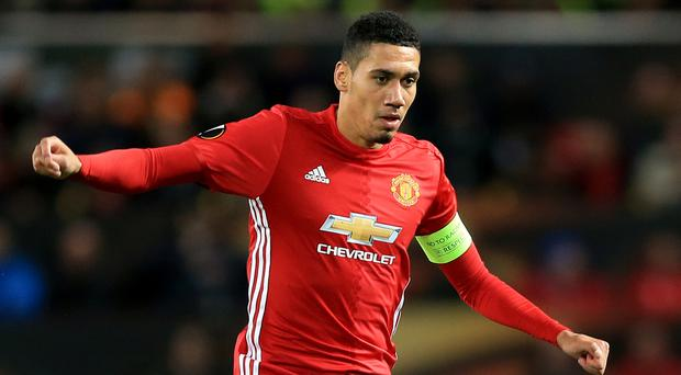 Chris Smalling felt Manchester United were comfortable in the draw at Anfield
