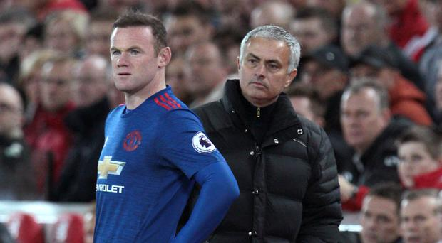 Wayne Rooney, pictured left, has been on the Manchester United under Jose Mourinho recently