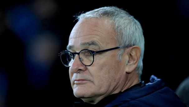 Leicester manager Claudio Ranieri watches on as his side beat Copenhagen 1-0 in the Champions League on Tuesday.