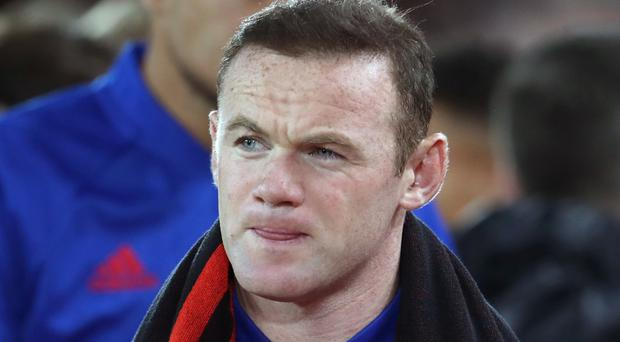 Wayne Rooney has been used as a substitute in Manchester United's past four games