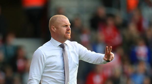 Burnley boss Sean Dyche has urged his side to return to form against Everton on Saturday.