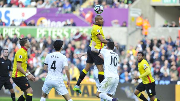 Watford took a point away from the Liberty Stadium