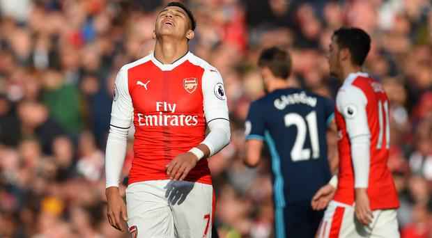 Alexis Sanchez and Co. could not find a way through the Middlesbrough defence