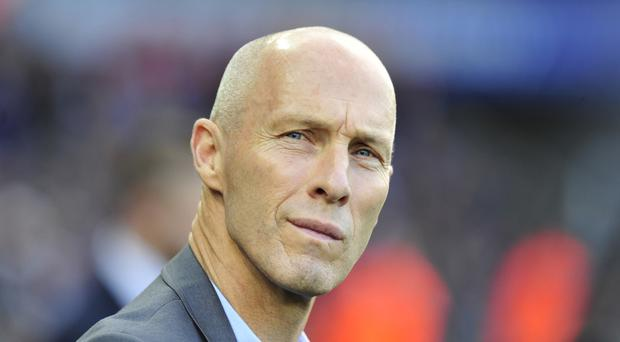 Swansea manager Bob Bradley was encouraged by his side's performance in their goalless draw with Watford.