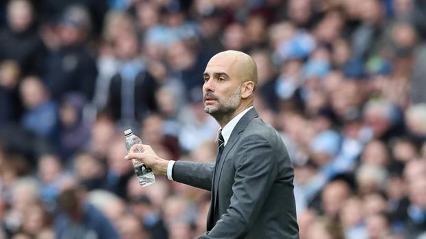 Manchester City manager Pep Guardiola was unable to guide his side to victory at home to Southampton