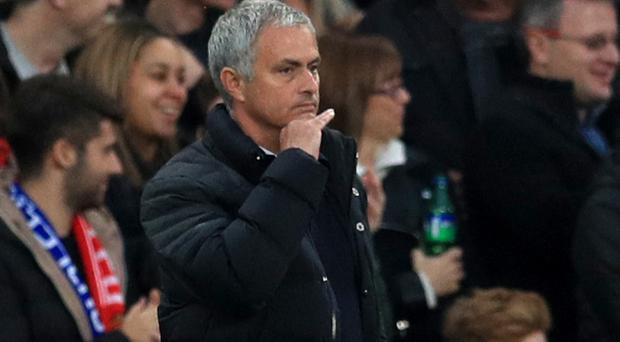 Jose Mourinho had an unhappy return to Stamford Bridge