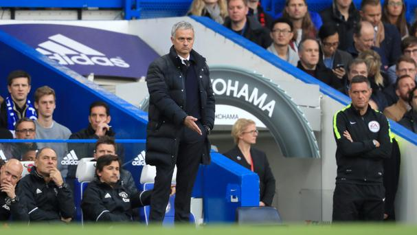 Manchester United manager Jose Mourinho experienced defeat on his return to Stamford Bridge