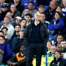Manchester United manager Jose Mourinho endured a nightmare return to his former club Chelsea