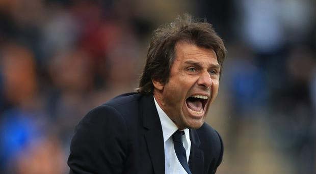 Antonio Conte has defended his touchline conduct