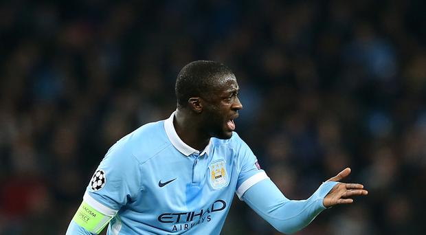 Yaya Toure has been frozen out of the first-team picture at Manchester City