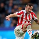 Phil Bardsley has been given leave by Stoke following the death of his grandfather