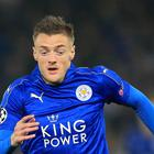 Leicester's Jamie Vardy has scored three times for the Foxes this season.