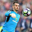 Burnley goalkeeper Tom Heaton admits he still calls Sir Alex Ferguson