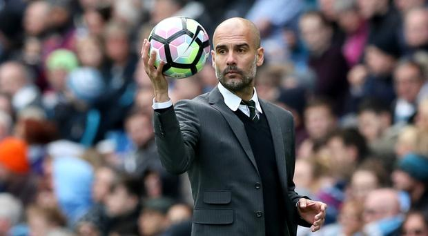 Pep Guardiola is hoping to get back to winning ways this weekend