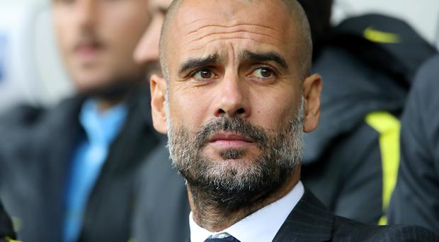 Pep Guardiola was relieved to see Manchester City win again