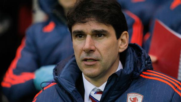 Aitor Karanka, pictured, was not surprised by Gaston Ramirez's wonder-strike