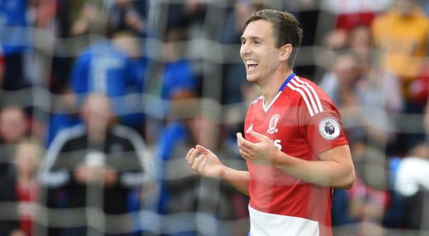 Stewart Downing scored Middlesbrough's second goal against Bournemouth