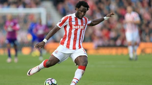 Wilfried Bony has not scored in seven appearances for Stoke