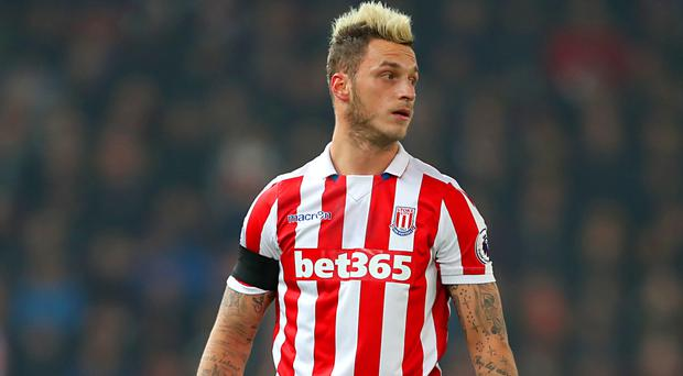 Marko Arnautovic will be missing at West Ham this weekend due to suspension