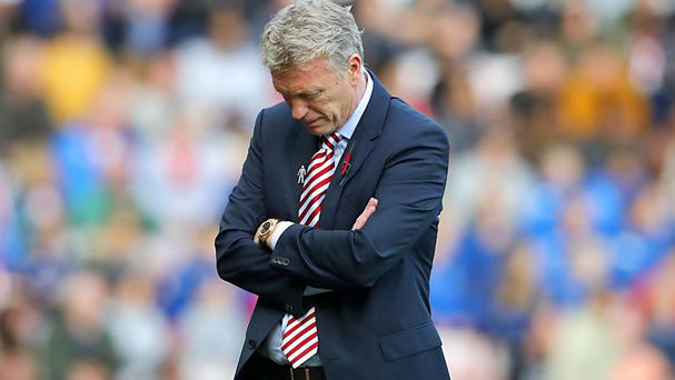 Sunderland manager David Moyes is reportedly facing the axe