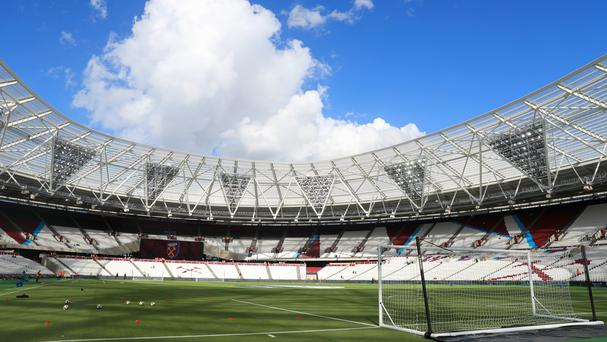 West Ham are re-seating a section of Stoke supporters for Saturday's match