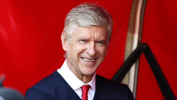Arsene Wenger is hoping to have reason to smile in the knockout stages this season