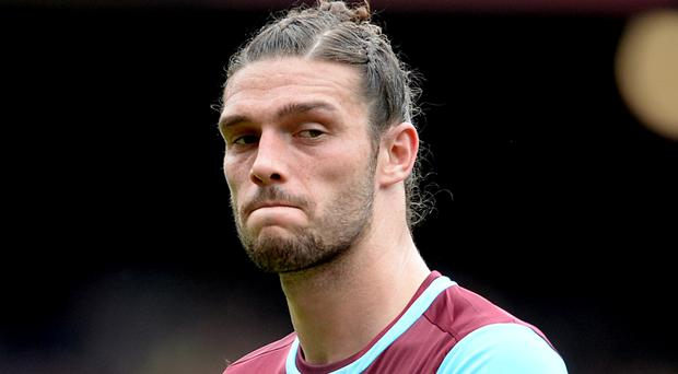 The incident happened after Andy Carroll had left West Ham's training ground