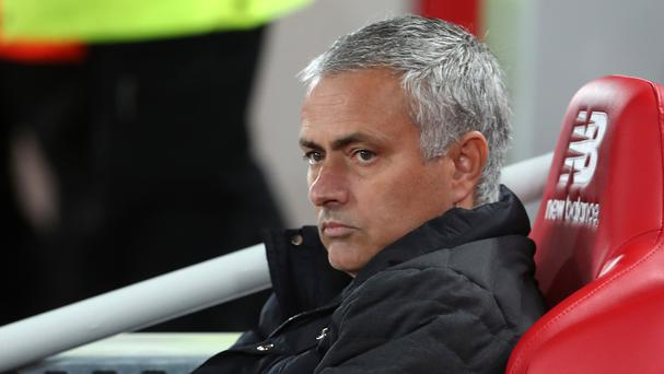 Jose Mourinho will not be in the dugout against Swansea this weekend